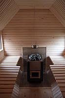 Сауна парна деревянная лазня мобильная отдельностоящая с предбанником, фото 9