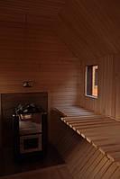 Сауна парна деревянная лазня мобильная отдельностоящая с предбанником, фото 10