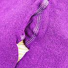 Колготки детские махровые с рисунком MALVA 480 16р фиолетовые в горох 20038731, фото 5