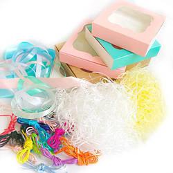 Упаковка и органайзеры (коробки, наполнители, ленты)