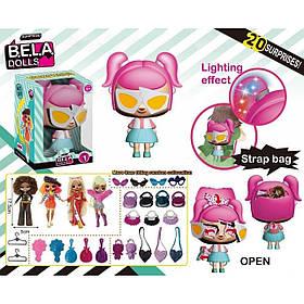 Набір Bela Dolls з одягом, прикрасами і аксесуарами