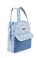Сумка для мам Sensillo Mama Bag с креплением к коляске Dmuchawce Niebieskie