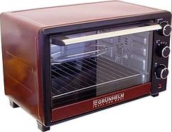 Печь электрическая GRUNHELM - GN33ARC (бордовый 33л, 1600 Вт)