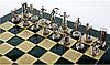 Шахматы эксклюзивные Manopoulos, Минойский воин 36х36см