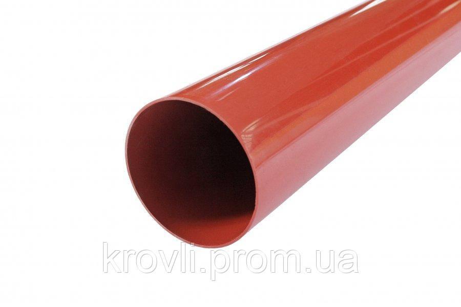 Труба водостічна Profil 100 цегляна 4м