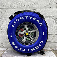 Рюкзак детский 3D колесо синее