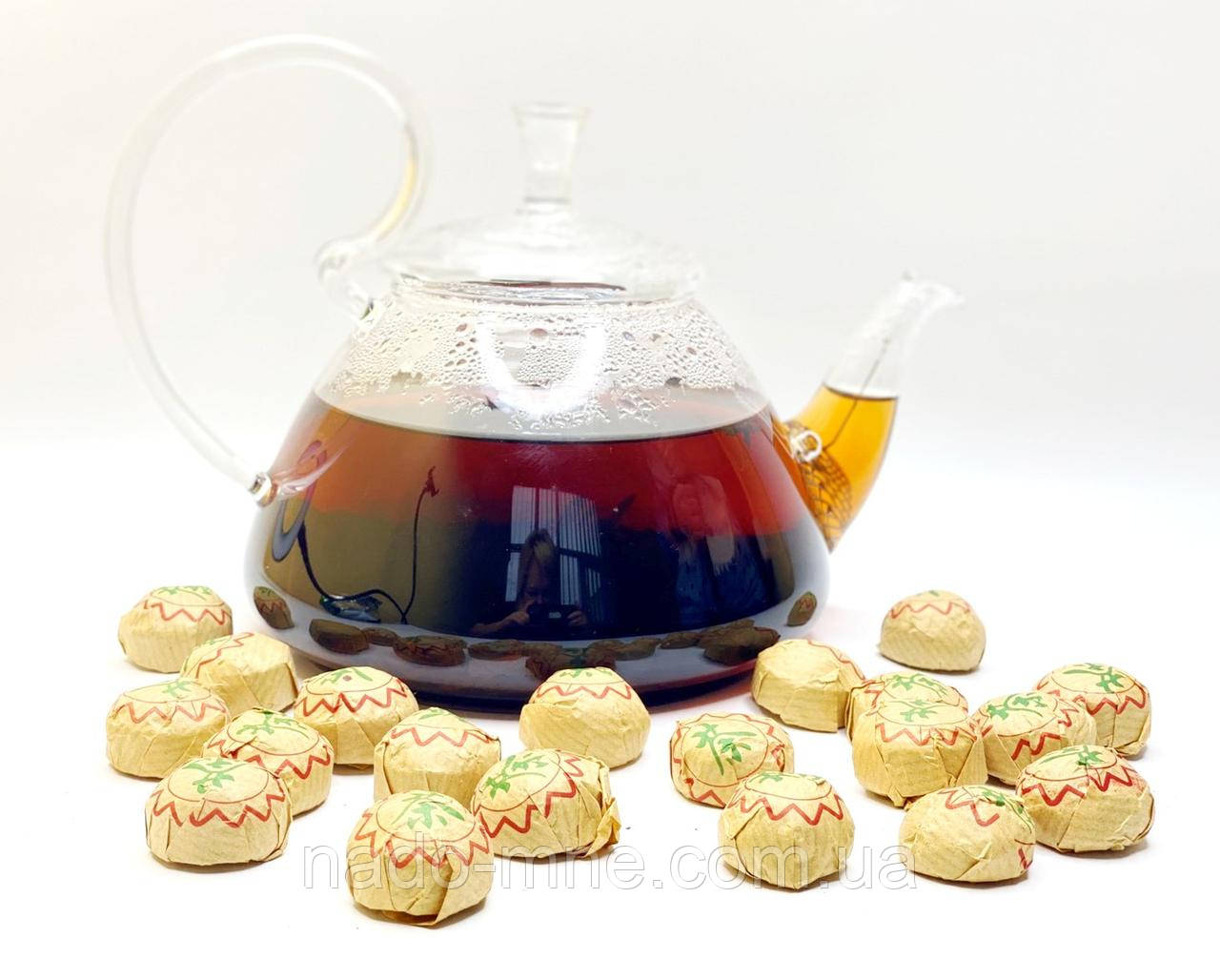 Чай Элитный Китайский Прессованный Шу Пуэр Мини То Ча, 5-7 г