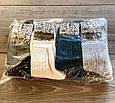 Теплі жіночі шкарпетки Kardesler з вязаним принтом, вовна лами однотонні мікс кольорів розмір 35-40, фото 5