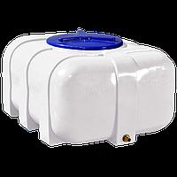 Емкость пластиковая овальная однослойная Рото Европласт 200 литров
