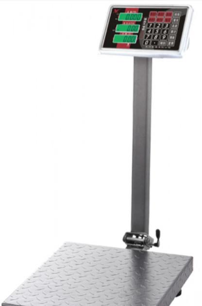 Весы электронные торговые BITEK YZ-909-G5A-600 600 кг усиленная платформа