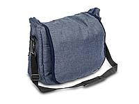 Универсальная сумка на коляску Caretero - Льняная Granatowy