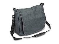 Универсальная сумка на коляску Caretero - Льняная Grafitowy