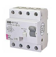 Диференціальне Реле (УЗО) EFI-4 40/0.03 AC (6кА)