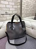 Стильная женская сумка иск.кожа, фото 2