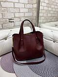 Стильная женская сумка иск.кожа, фото 6