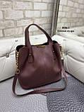 Стильная женская сумка иск.кожа, фото 9