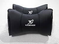 Подушка на подголовник Hamann черная