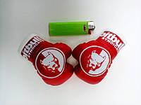 Подвеска боксерские перчатки Pitbull красные