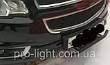 Кронштейн крепления дополнительных/противотуманных фар под гос. номер с трубой, фото 4