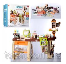 Дитячий Супермаркет 52 предмета 668-69 каса, сканер, звук, світло, продукти