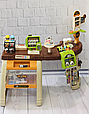 Дитячий супермаркет 52 предмета 668-69 каса, сканер, звук, світло, продукти, фото 3