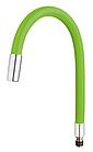 Излив (носик-гибкий) силиконовый 55см цветной FRAP F7250-56, фото 5