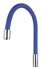 Излив (носик-гибкий) силиконовый 55см цветной FRAP F7250-56, фото 6
