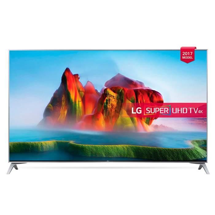 Телевизор LG 55SJ800V (55 дюймов / 120 Гц / Smart TV / 4K / Ultra HD / Wi-Fi / Bluetooth / HDR)