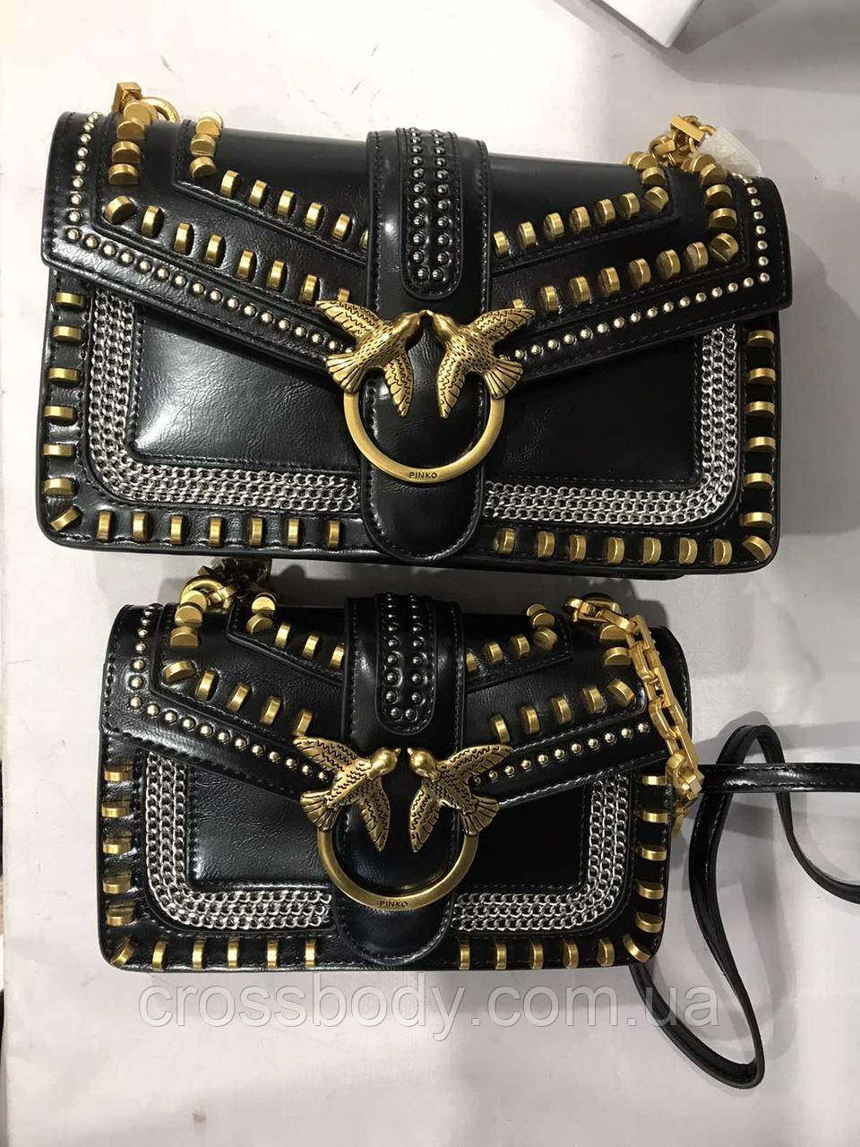 Gucci Pinko сумка женская в стиле коробка пыльник в комплекте