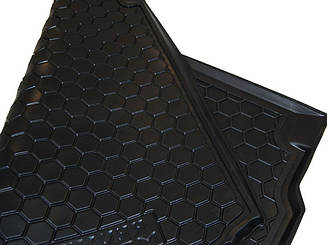 Коврик в багажник Kia Carens (2013>) (7мест) (Avto-Gumm)