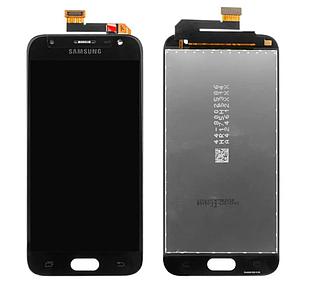 Модуль для Samsung Galaxy J3 Samsung J330, черный, дисплей + сенсор