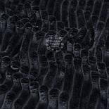 Плюш в полоску Stripes чёрного цвета, фото 4