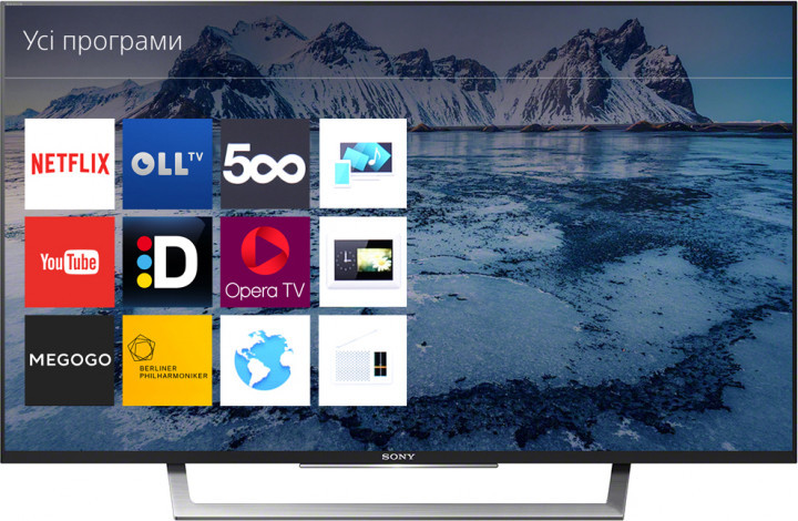 Телевизор Sony KDL-32WD750 (Smart TV / 400 кд/м2 / Full HD / Wi-Fi / DVB-C/T2/S2)