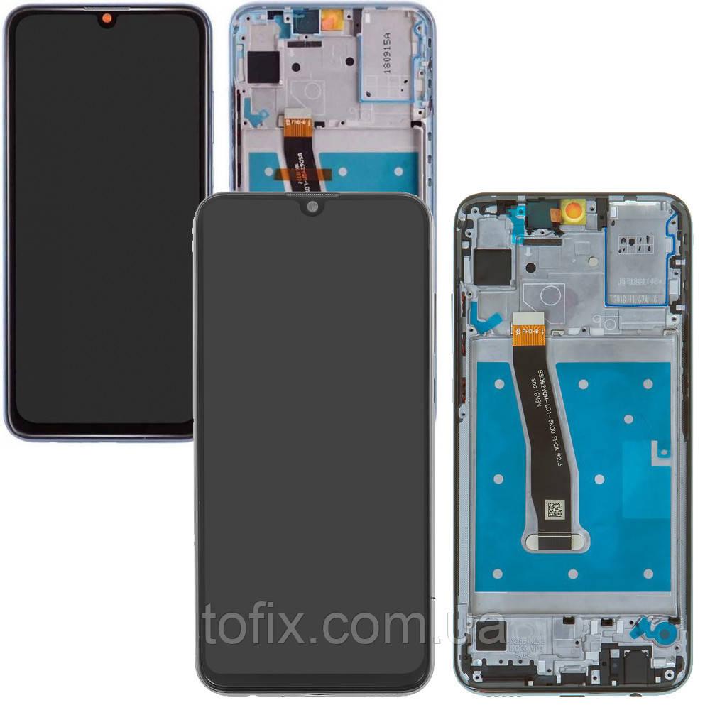 Дисплей для Huawei Honor 10 Lite HRY-LX1, Honor 10i, Honor 20 Lite, модуль (экран), с рамкой, оригинал