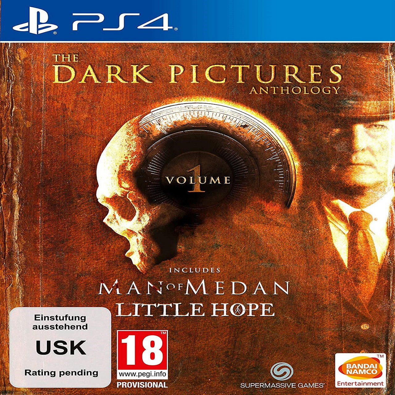 The Dark Pictures Anthology: Little Hope and Man of Medan VOL.1 Limited Edition (російські субтитри) PS4