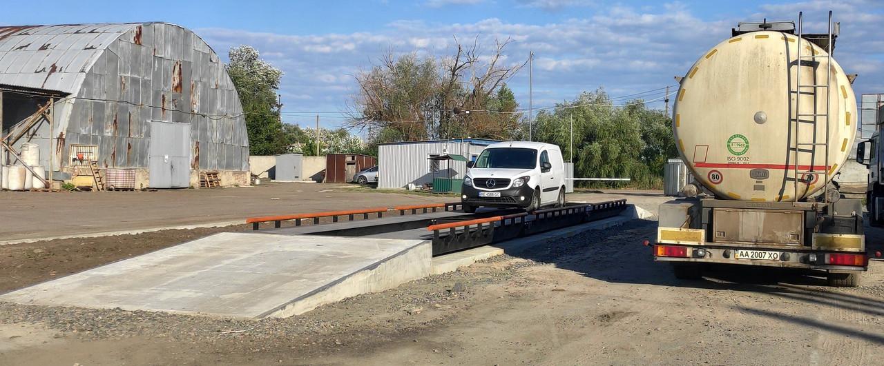Весы автомобильные РСА-30-6-М (6 метров, 30 тонн)