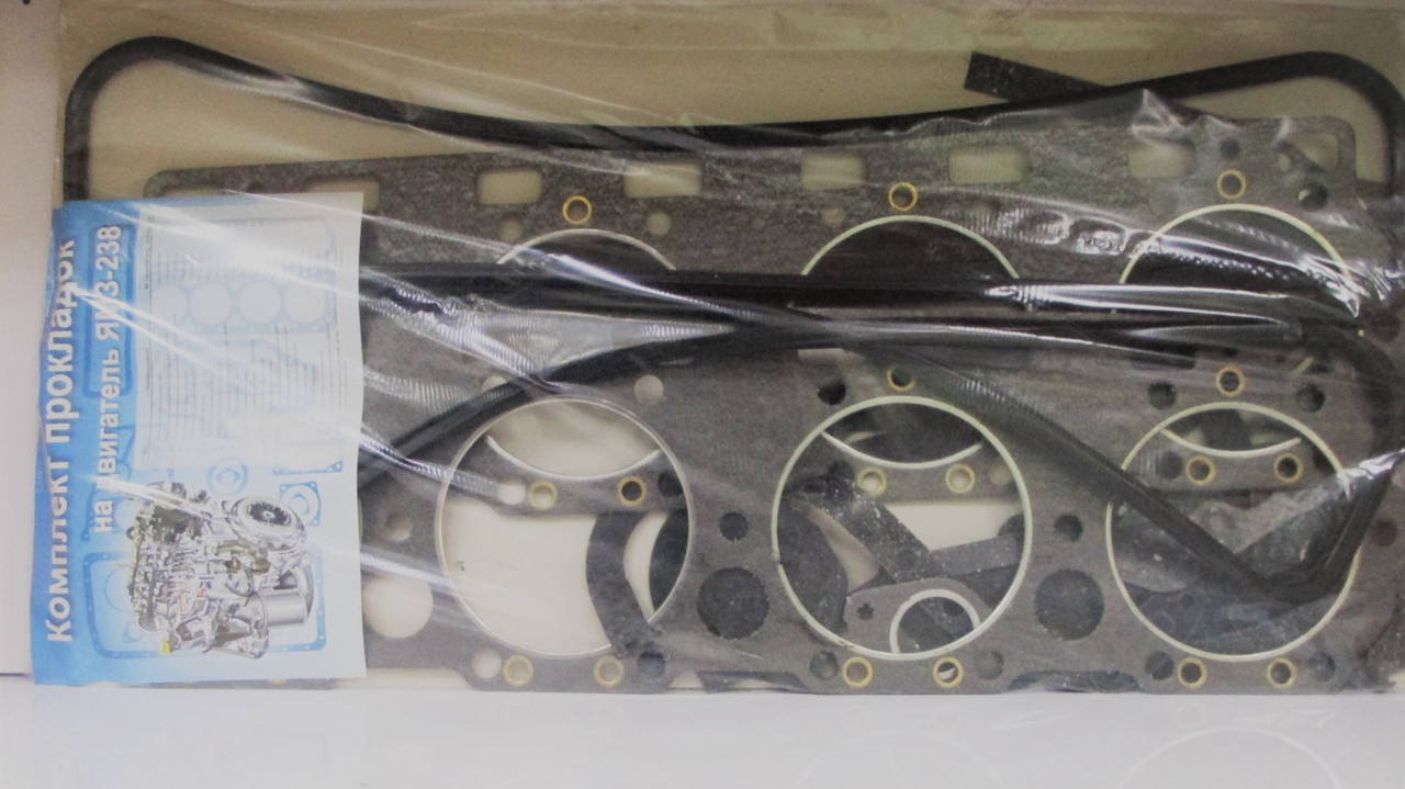 Комплект прокладок ЯМЗ-238 (полный) с ГБЦ
