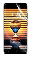 Гидрогелевая защитная пленка на Meizu Pro 7 на весь экран прозрачная