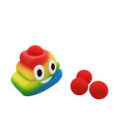 Игровой набор Стреляющая фигурка Радужная Кучка Squeeze Popper (55616)