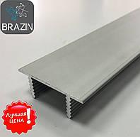 Торцевій алюмінієвий профіль для дверного полотна з ДСП або МДФ