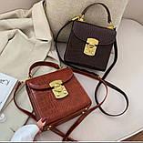 Женская стильная мини-сумочка, фото 2