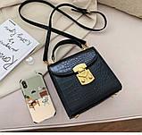 Женская стильная мини-сумочка, фото 5