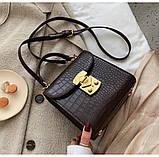Женская стильная мини-сумочка, фото 7