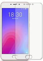 Гидрогелевая защитная пленка на Meizu M6 на весь экран прозрачная