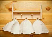 Шапки для бани и сауны