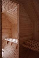 Сауна парна деревянная лазня мобильная отдельностоящая с предбанником, фото 4