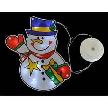 """Наклейка-светильник Yes! Fun """"Снеговик"""", 15,6*21 см"""
