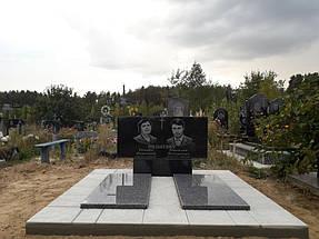 Гранитный памятник (Образец 024) 1