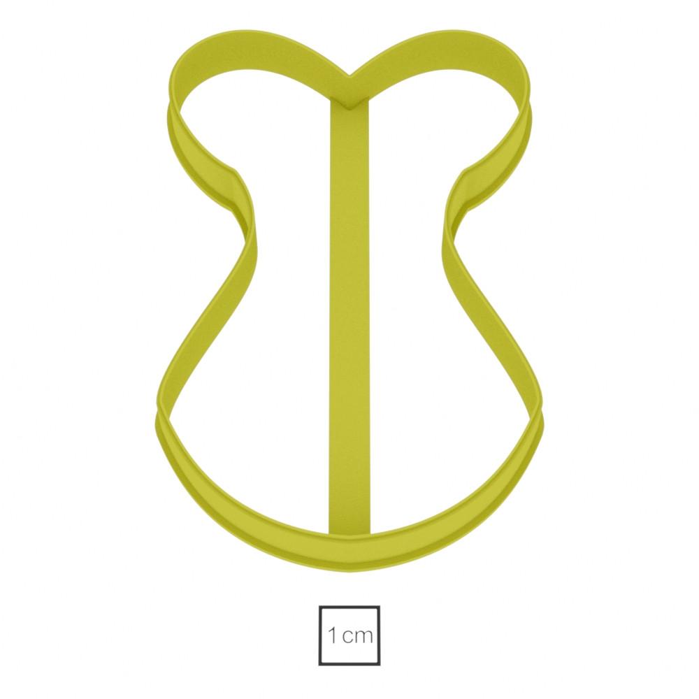 Висічка для пряників у вигляді купальника