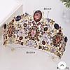 Тиара , диадема , корона на голову Инесса , высокая диадема, фото 7